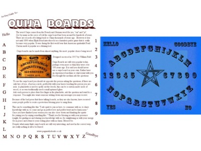 Ouija Board Easy Guide